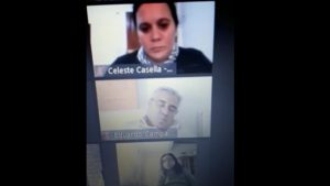 Intendente argentino se hizo viral por quedarse dormido en plena reunión virtual