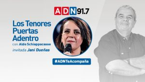 """Jani Dueñas: """"Tengo mucha admiración por los colegas que están haciendo stand up en su casa"""""""
