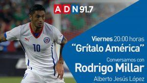 """Rodrigo Millar será el nuevo entrevistado en """"Grítalo América"""", webshow deportivo de Alberto Jesús López"""