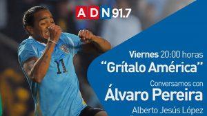 """Álvaro Pereira será el invitado en una nueva edición del webshow """"Grítalo América"""""""