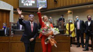 Marcela Sabat y Claudio Alvarado asumieron sus puestos en el Senado tras cambio de gabinete