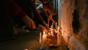 Bomberos de Villa Alemana rindieron homenaje a Ámbar Cornejo en nueva velatón