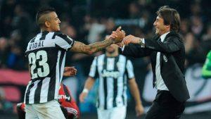 """La recordada frase con que Antonio Conte mostró su fanatismo por Vidal: """"Si tengo que ir a la guerra, me gustaría tenerlo al lado"""""""