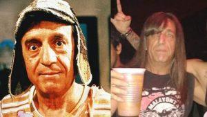 """Rockero que se hizo viral por ser igual a Chespirito: """"Tenemos un parecido, pero no tanto"""""""