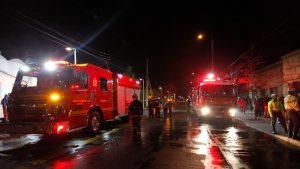 Incendio afectó a dependencias de la mina El Teniente en la Región de O'Higgins
