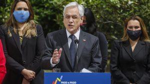 """Presidente Piñera: """"Estamos empezando a ver cómo el empleo empieza a crecer"""""""