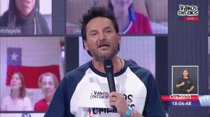 """El emotivo testimonio de Daniel Fuenzalida en """"Vamos Chilenos"""": Su madre está con ventilación mecánica"""