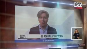 """Con rutina en vivo y en video: Stefan Kramer presentó show especial en """"Vamos Chilenos"""""""