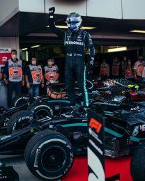 Valtteri Bottas acabó con la hegemonía de Lewis Hamilton y ganó el GP de Rusia