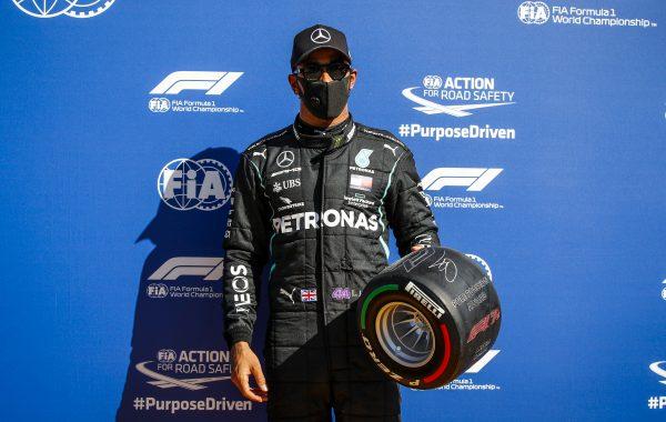 Sigue el dominio: Lewis Hamilton se quedó con la pole en el GP de Italia