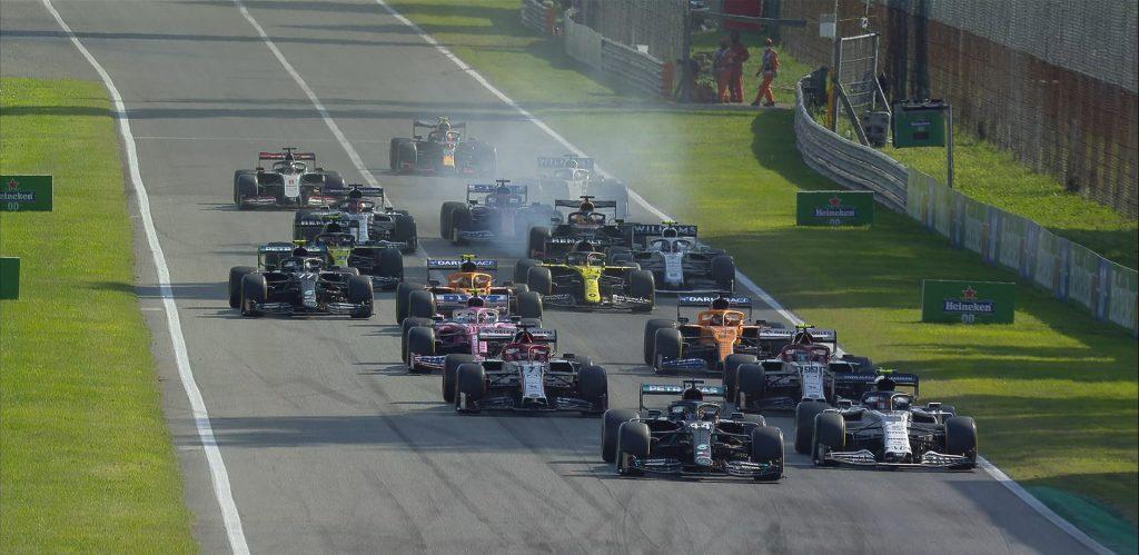 Carrera de locos: Pierre Gasly se quedó con el Gran Premio de Italia