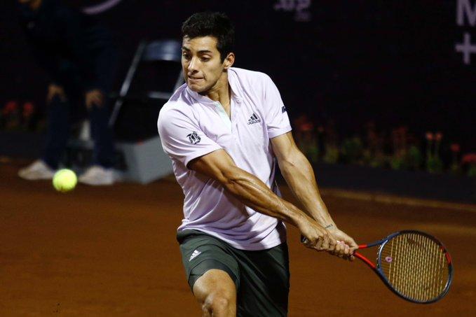 Cristian Garín tendrá un duro estreno en el ATP de Hamburgo ante el japonés Kei Nishikori