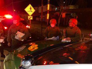Nuevo aumento en cantidad de personas detenidas por no respetar el toque de queda se registró en las últimas horas