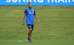 """Inter mostró el primer entrenamiento de Arturo Vidal: """"Le hemos seguido cada paso"""""""