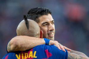 """Arturo Vidal despidió a Luis Suárez del Barcelona: """"Como amigo te voy a extrañar mucho"""""""