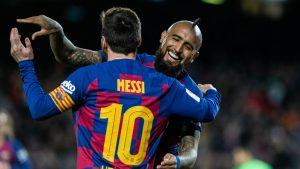 """""""Siempre me pareciste un fenómeno"""": Las emotivas palabras que Lionel Messi le dedicó a Arturo Vidal"""