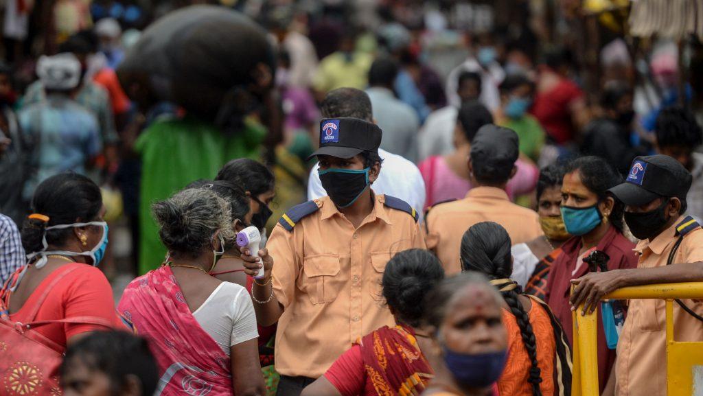 India tuvo nuevo récord de contagios y supera los 5,4 millones de casos con Covid-19