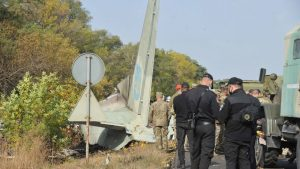 Avión militar ucraniano se estrelló durante vuelo de entrenamiento y dejó 26 personas fallecidas