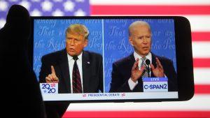 Debate presidencial en EE.UU: Trump y Biden continúan enfrentándose a través de las redes sociales