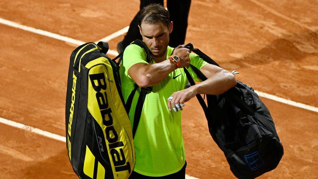 Rafael Nadal cayó ante Diego Schwartzman y se despidió del Masters 1000 de Roma