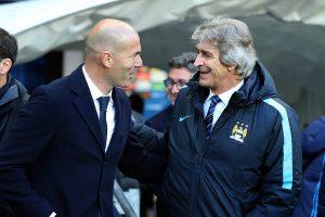 "Zinedine Zidane llenó de elogios a Manuel Pellegrini: ""Seguramente veremos un buen Betis este año"""