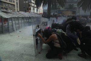 Grupos feministas enfrentaron a la policía y las autoridades en Ciudad de México