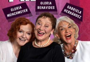 """El regreso de las """"Viejas de mierda"""": Gloria Benavides, Gloria Munchmeyer y Gabriela Hernández debutan en streaming"""