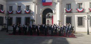 Presidente Piñera encabezó foto oficial con subsecretarios en la previa de Fiestas Patrias