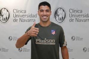 Luis Suárez fue oficializado como nuevo jugador del Atlético de Madrid