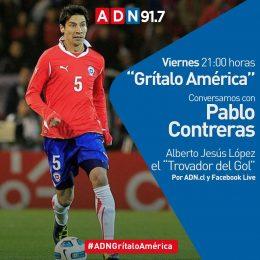 """Pablo Contreras será el invitado en un nuevo capítulo de """"Grítalo América"""""""