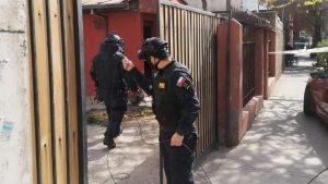 PDI realizó operativo en La Cisterna por la presencia de una granada al interior de un domicilio