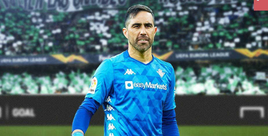 """Claudio Bravo llenó de elogios a Pellegrini: """"Es importante tener un  técnico de la envergadura de Manuel"""""""