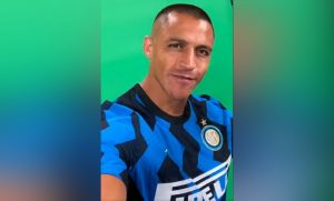 Inter de Milán se sumó a los saludos al pueblo chileno de la mano de Alexis Sánchez