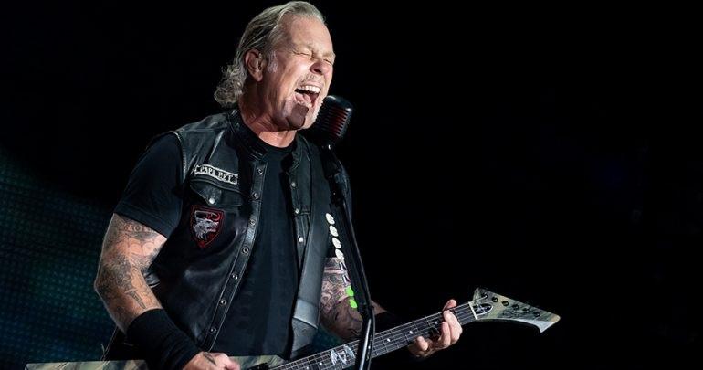 """Fanático de Metallica recopiló todos los """"yeah"""" que James Hetfield ha gritado desde los comienzos de la banda"""