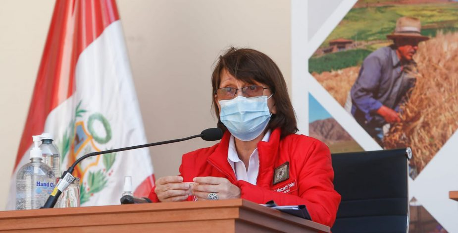 Ministra de Salud peruana: