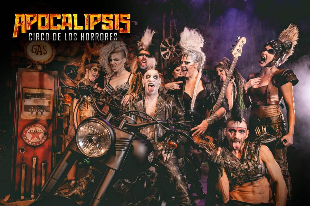 """""""Apocalipsis"""", el show circense español de terror llega a Chile vía streaming para la noche de Halloween"""