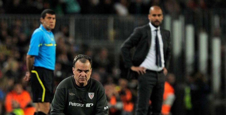 Marcelo Bielsa y Pep Guardiola se reencuentran ocho años después