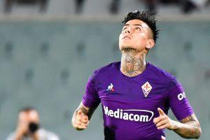 Erick Pulgar participó en el triunfo de la Fiorentina ante el Udinese por la Serie A de Italia