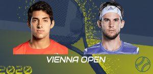 Cristian Garin ya tiene horario definido para medirse ante Dominic Thiem en el ATP 500 de Viena