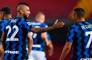 Arturo Vidal sería suplente en el duelo entre el Parma y el Inter por la Serie A de Italia
