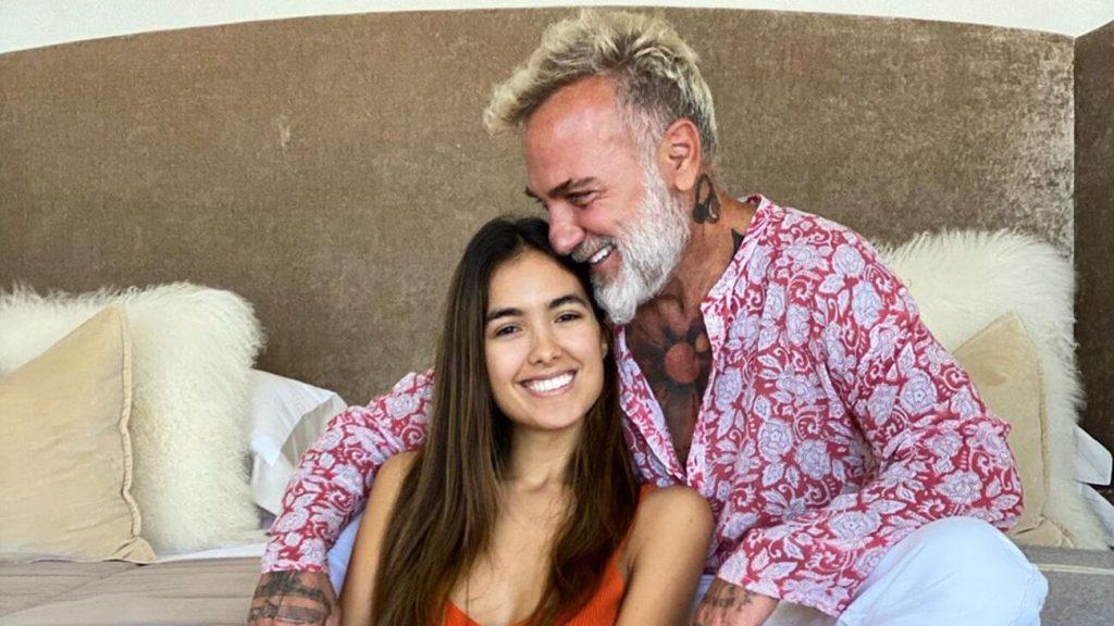 Gianluca Vacchi y Sharon Fonseca anunciaron el nacimiento de su hija
