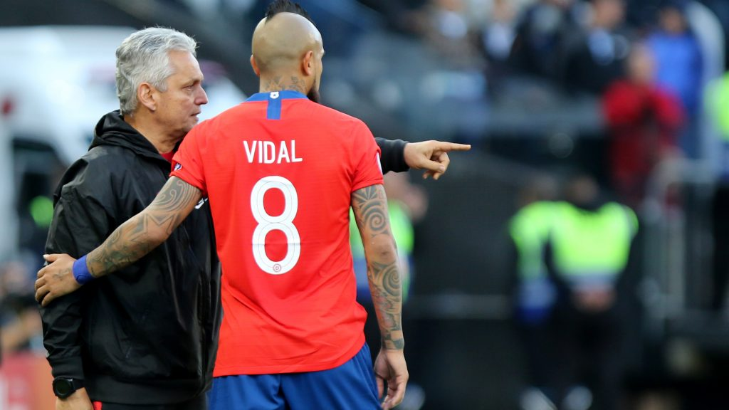 """¿Vidal de delantero? La variante que estudia Reinaldo Rueda para la """"Roja"""""""