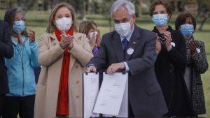 Presidente Piñera envió proyecto de ley que entrega beneficios a adultos mayores