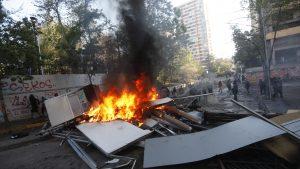 Armada dio de baja a cabo que fue detenido en medio de disturbios por aniversario del estallido social en Santiago