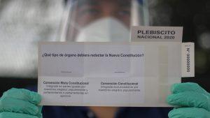 Plebiscito 2020: Gobierno explicó qué ocurrirá con los contagiados con Covid-19 que lleguen a votar