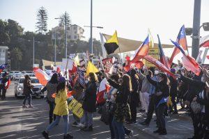 Campaña del Rechazo finalizó con convocatoria de manifestantes en Viña del Mar