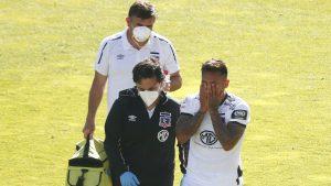 """Otro problema para Colo-Colo: Marcos Bolados sufrió un esguince y será baja en los """"albos"""" por al menos un mes"""