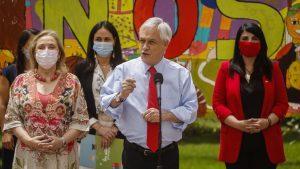 """Presidente Piñera por aprobación de proyecto que termina con el Sename: """"Dimos un primer paso"""""""