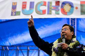 Presidente electo de Bolivia: Con el resultado quedó claro que en 2019 también ganamos