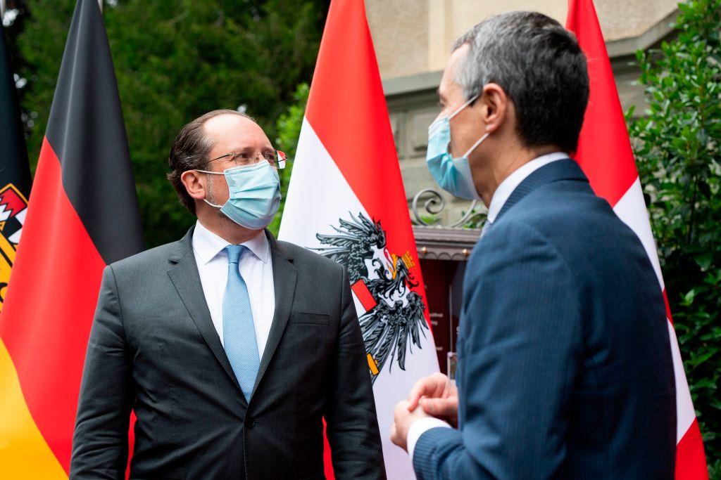 El canciller austriaco reunido con sus pares en Luxemburgo